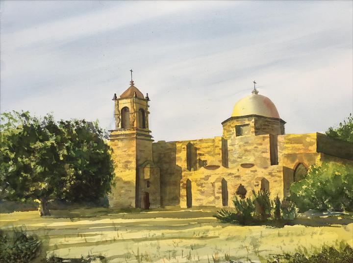 Mission_San_José-21x28-watercolor