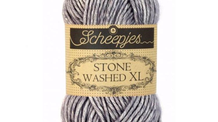 Stone washed xl - smokey quartz - 50gr - aig 5