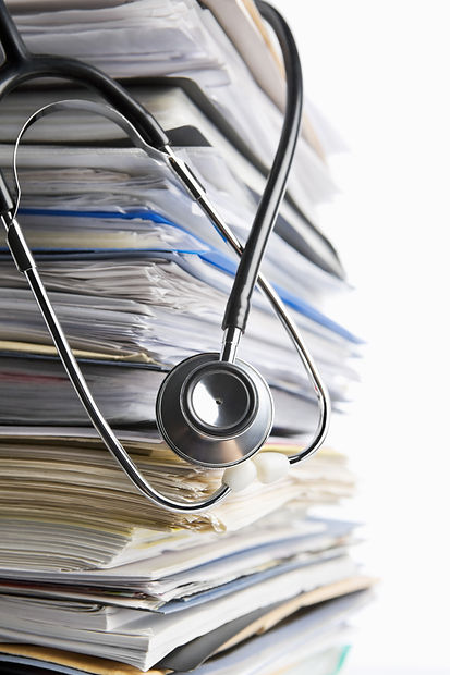Medical record concept using stethoscope