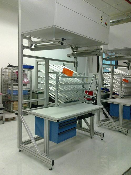 Kanban Arbeitsplatz Handlingsystem