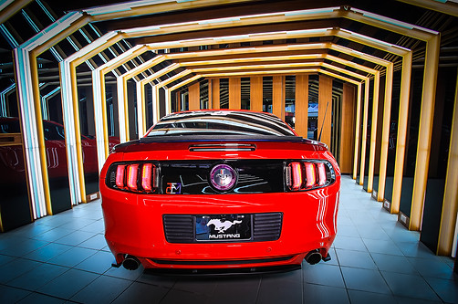 2010-2014 Mustang Tail Lights