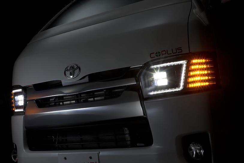 2014+ Hiace Headlights