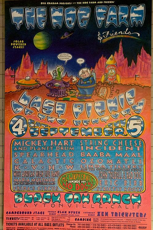 Hog Farm Pignic Poster (1999)