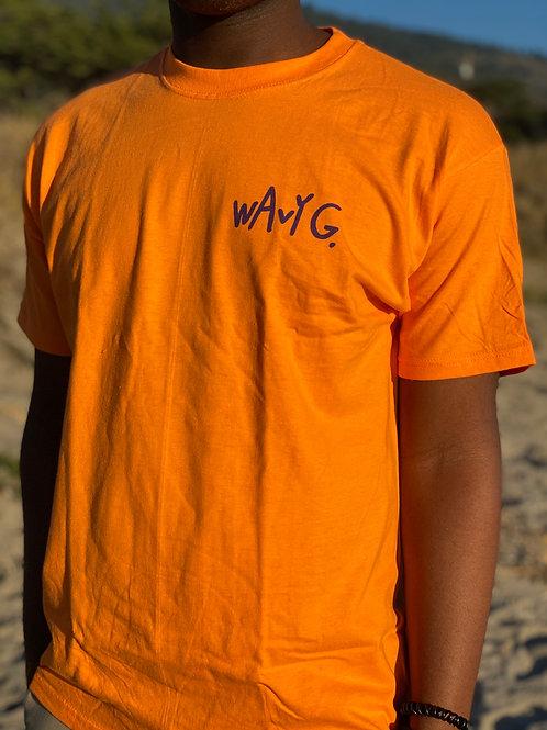 Wavy G - Orange T-Shirt