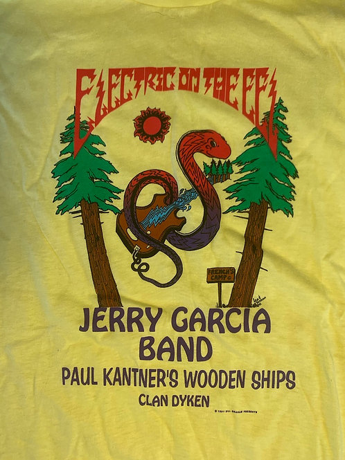 Electric On the Eel with Jerry Garcia T-Shirt (1991)