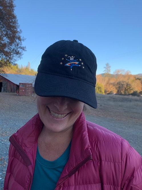 Hog Farm Dancing Pig Embroidered Hat