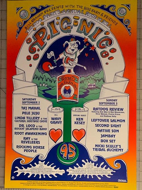 Hog Farm Pignic Poster (1995)