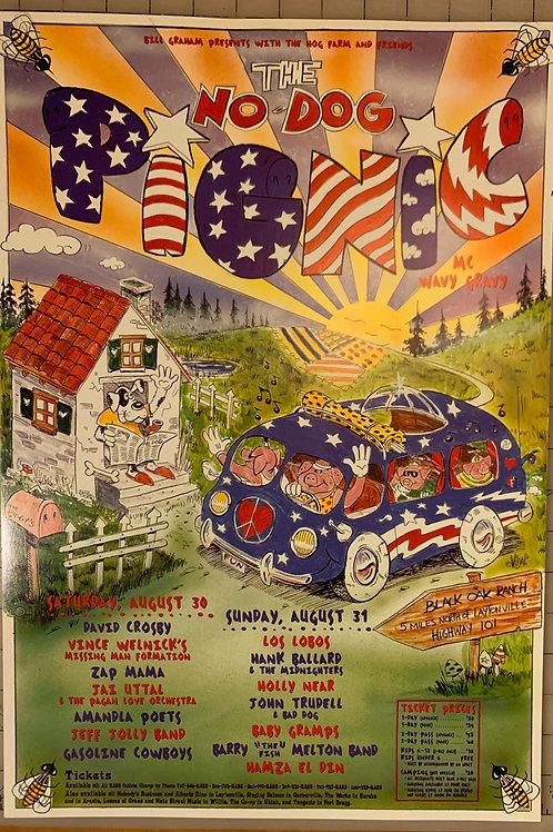 Hog Farm Pignic Poster (1997)
