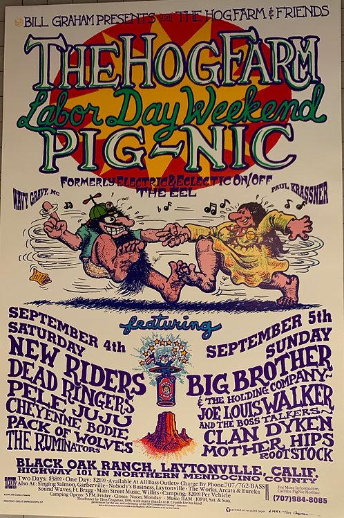 Hog Farm Pignic Poster (1993)