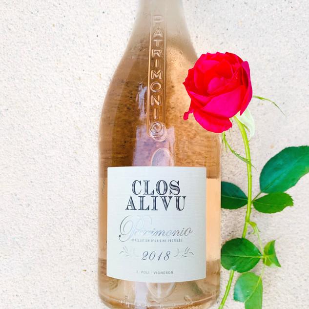 Clos Alivu rose 2018