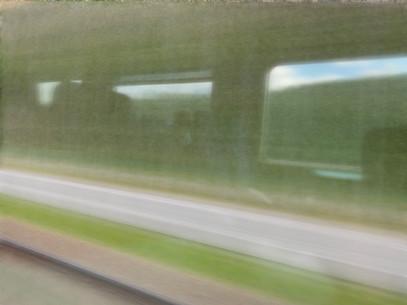 Vitesse du train, vitesse du regard...