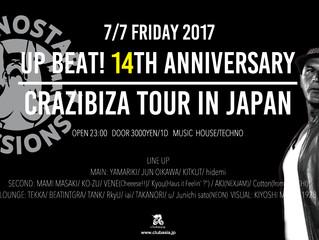 2017.7.7 UP BEAT!14th Anniversary