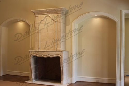Cream-limestone-antiqued-fireplace-500x3
