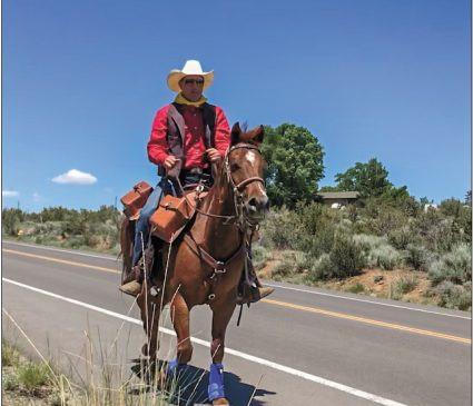tony commendatore pony express re ride 2