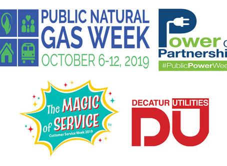 DU celebrates public utility weeks