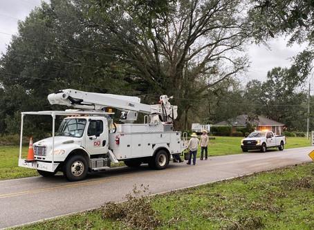 DU crews help with hurricane relief