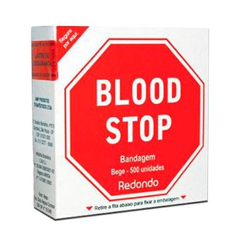Bandagem Blood Stop Redondo C/ 500 Un