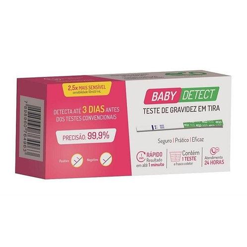 TESTE DE GRAVIDEZ EM TIRA - BABY DETECT