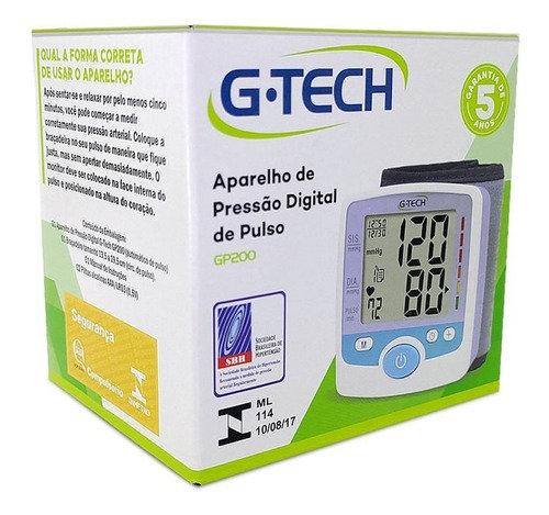 APARELHO DE PRESSÃO DIGITAL G-TECH GP200