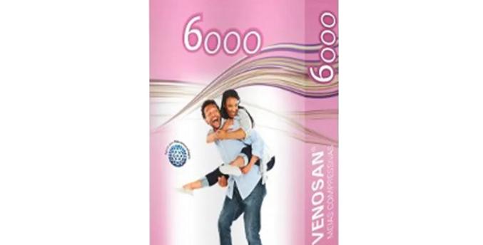 Meia Panturrilha 20-30 6000 Pé Aberto Unissex Bege Venosan
