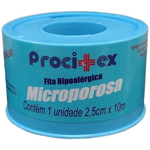 Fita Microporosa Procitex Branca 5cmx10m - 01 Rolo