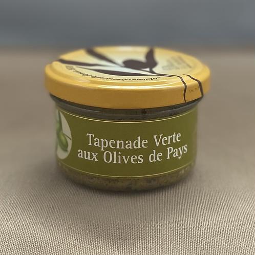 Tapenade Verte aux Olives de Pays, 90g