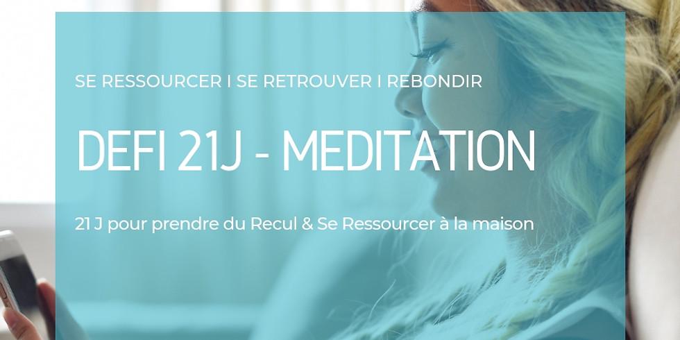 Défi 21j - Méditation