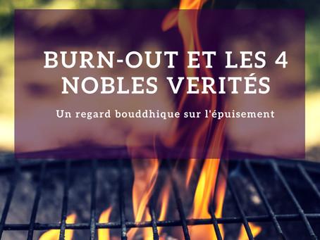 Burn-out et les 4 nobles vérités