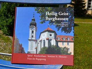 """Buch """"Heilig Geist Burghausen"""" - Spital, Krankenhaus, Seminar St. Altmann, Haus der Begegnung"""