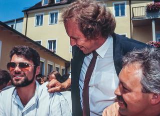 Impression vom Festakt zur Schließung des Seminars St. Altmann im Jahr 1990