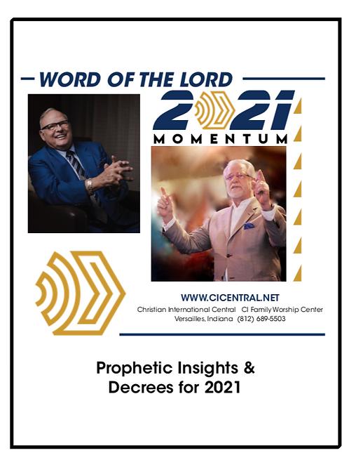 2021 Prophetic Sensing Booklet