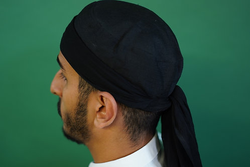 Turban - Sarik in Schwarz