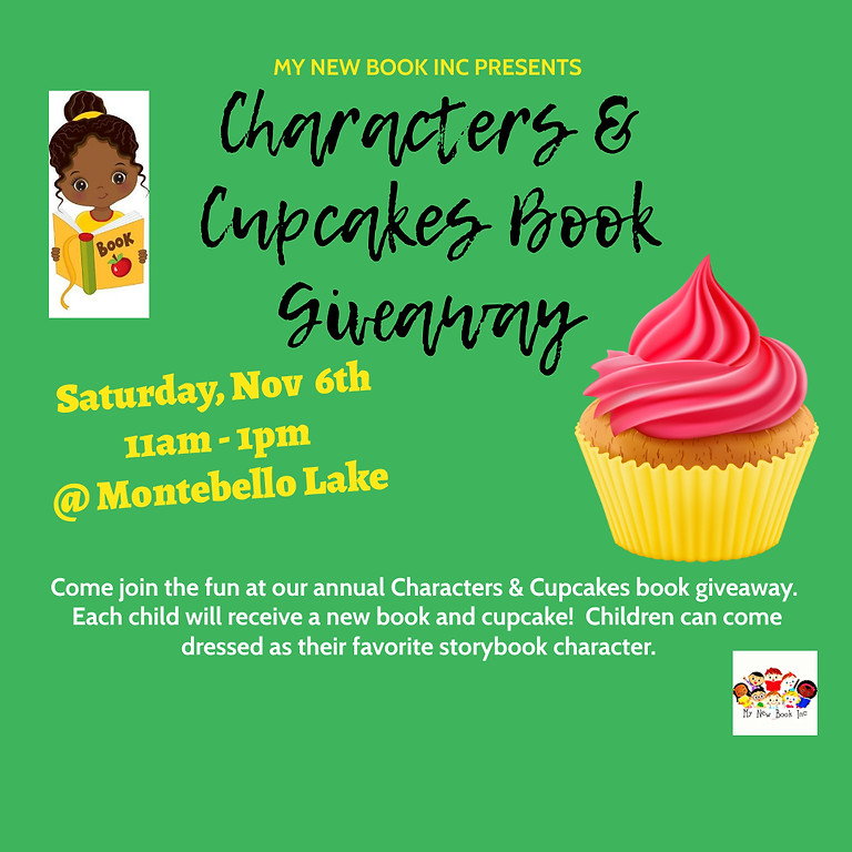 Characters & Cupcakes Book Giveaway