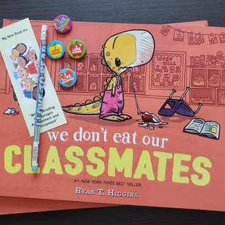 Our favorite book is headed to our friends at Hilton Elementary School