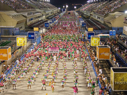 Ensaios técnicos no Sambódromo Carnaval 2017