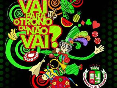 Grande Rio já tem nova Rainha e agora Samba Enredo para o carnaval de 2018