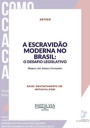 A Escravidão Moderna no Brasil: o desafio legislativo