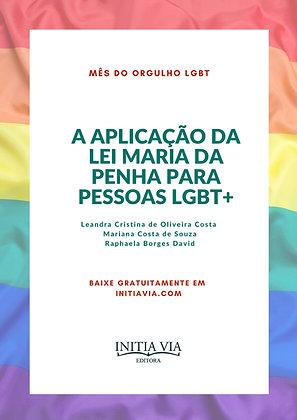 A Aplicação da Lei Maria da Penha para pessoas LGBT+