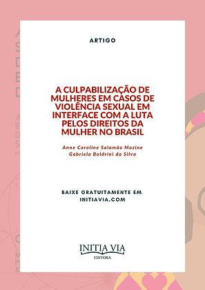 A Culpabilização de Mulheres em Casos de Violência Sexual
