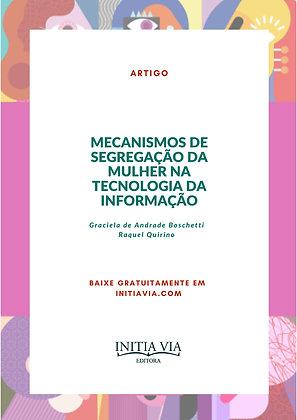 Mecanismos de segregação da mulher na tecnologia da informação