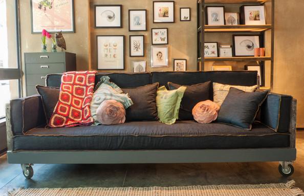 ספה של שייקל דיזיין