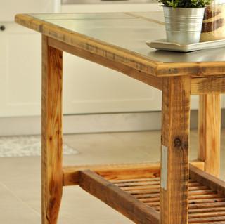 שולחן משולב shaycle design נירוסטה.  (10