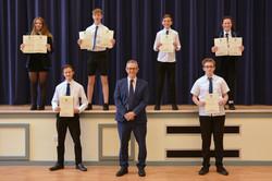 Mr Graham presents Celebration of Succes