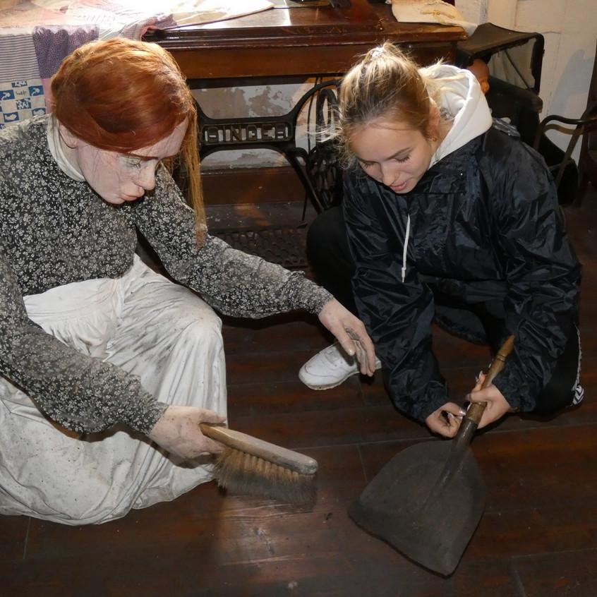Erasmus pupil steps back in time