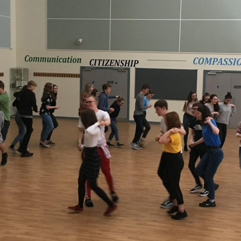 Erasmus country dancing