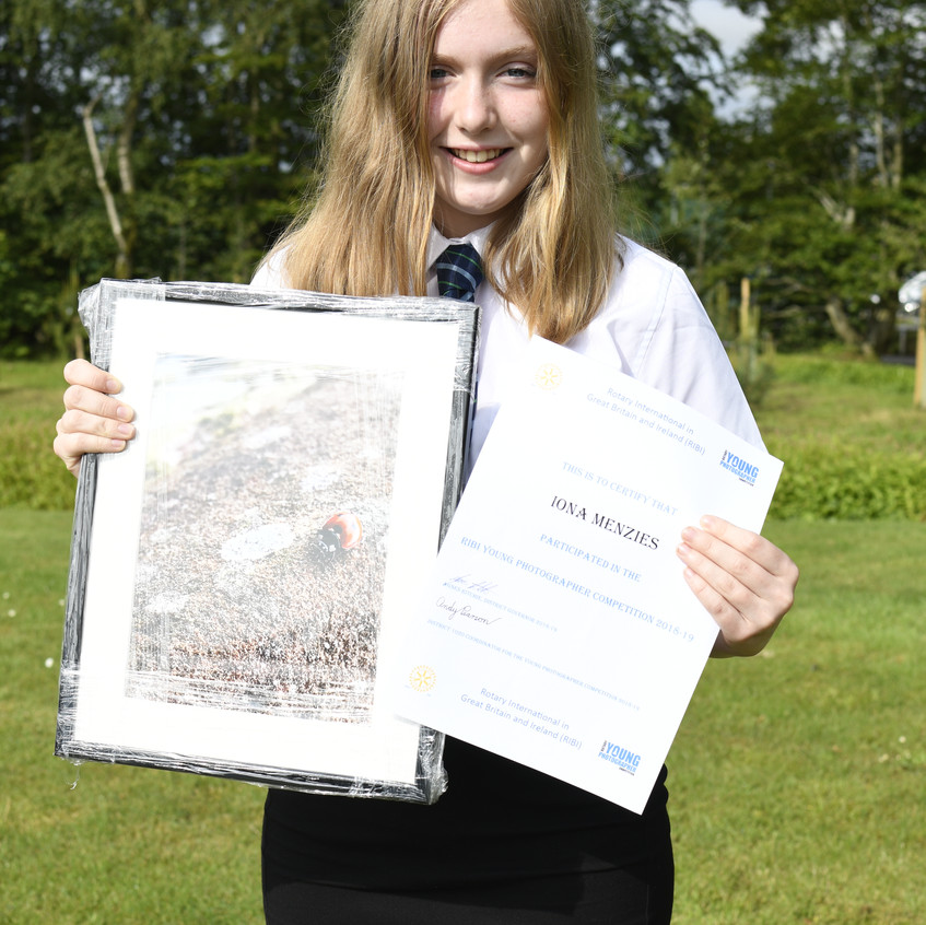 Iona Menzies Rotary Young Photographer