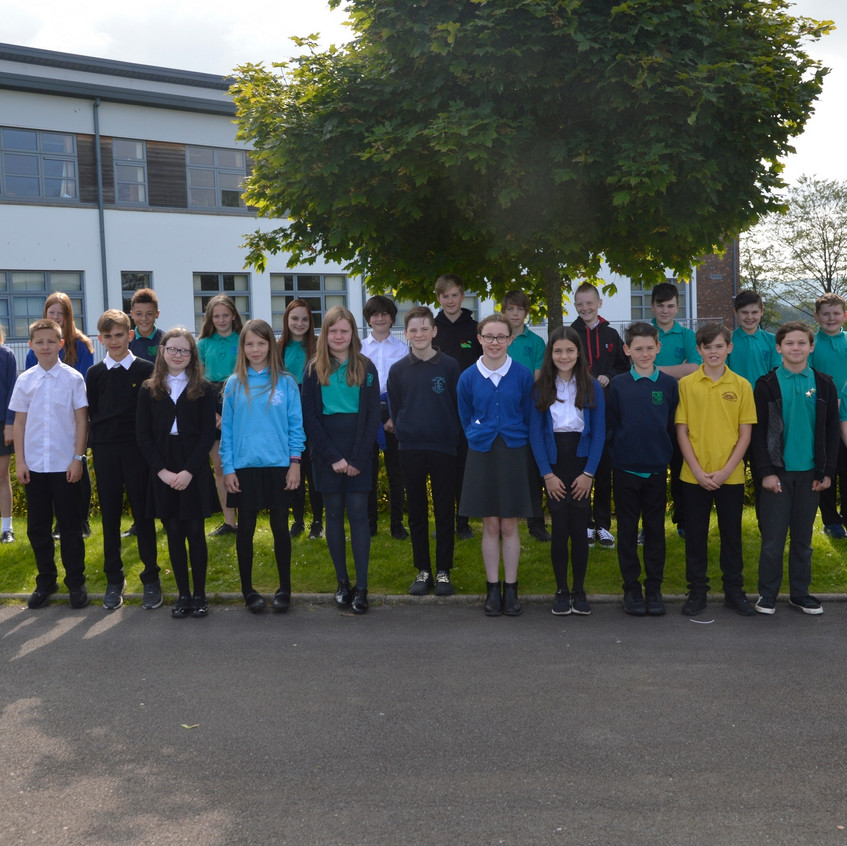 P7 Induction Class Photo 1