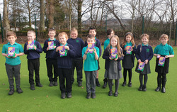P3 with their Easter Eggs