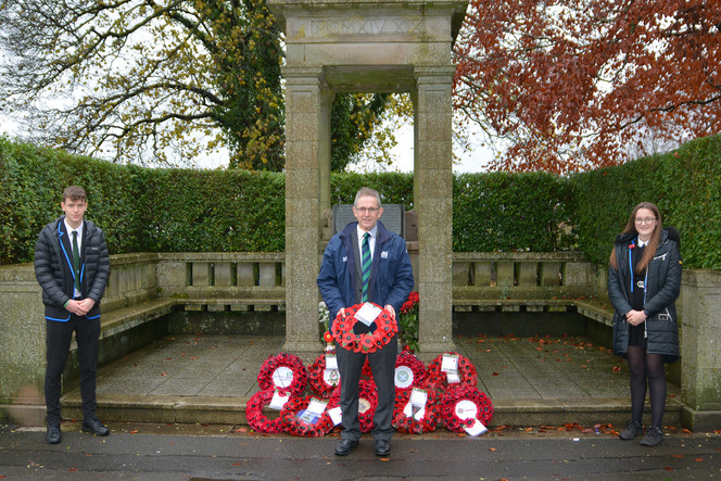 Remembrance Day at Wallace Hall