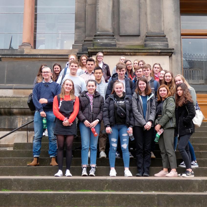 Erasmus group in Edinburgh